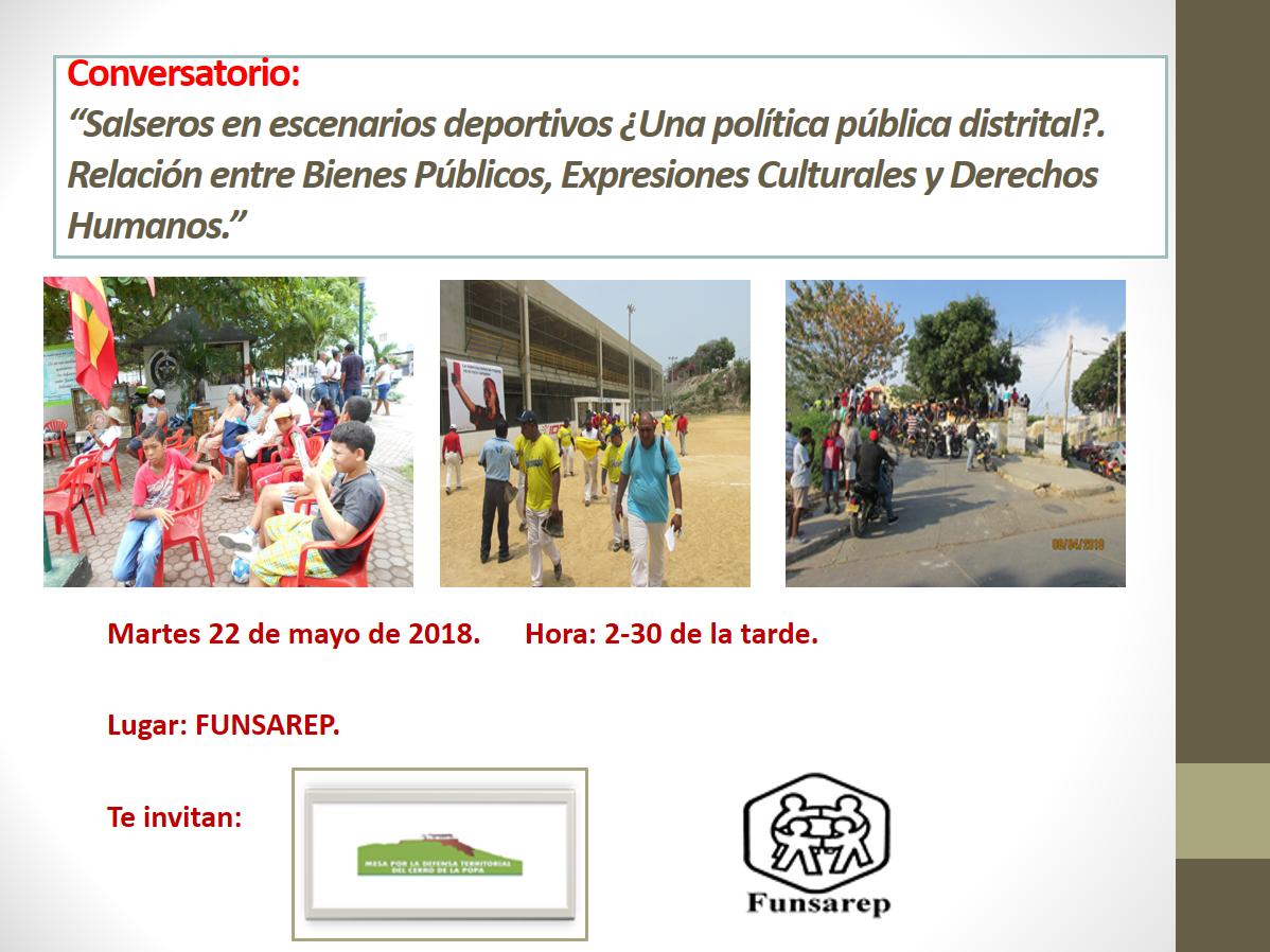 """Conversatorio: """"Relación entre Bienes Públicos, Expresiones Culturales y Derechos Humanos."""""""