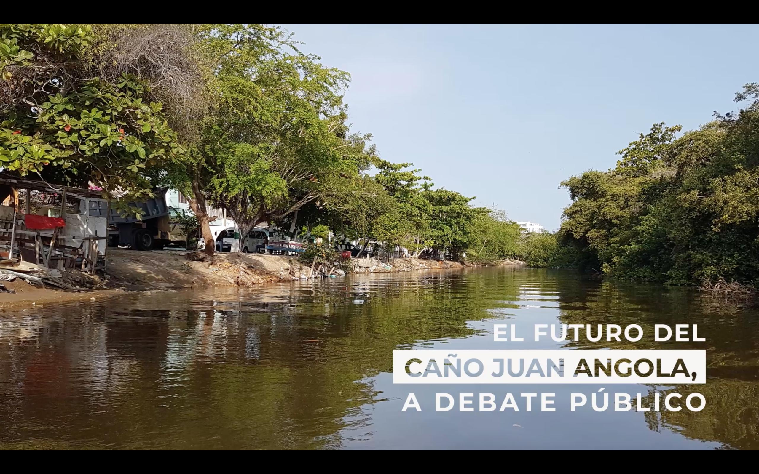 El futuro del Caño Juan Angola, a debate público.