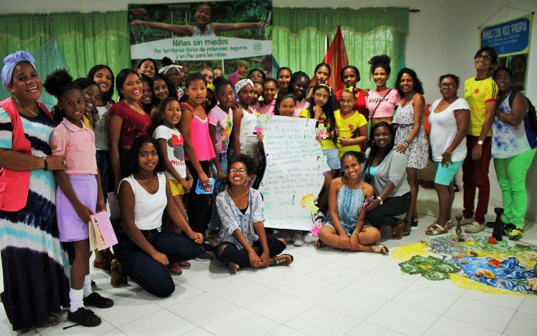 Experiencias de trabajo a favor de los derechos de las niñas